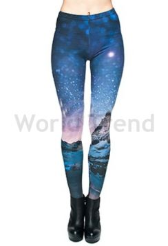 Galaxy mintás leggings