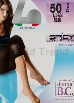 B.C. Capri 50 50 den leggings